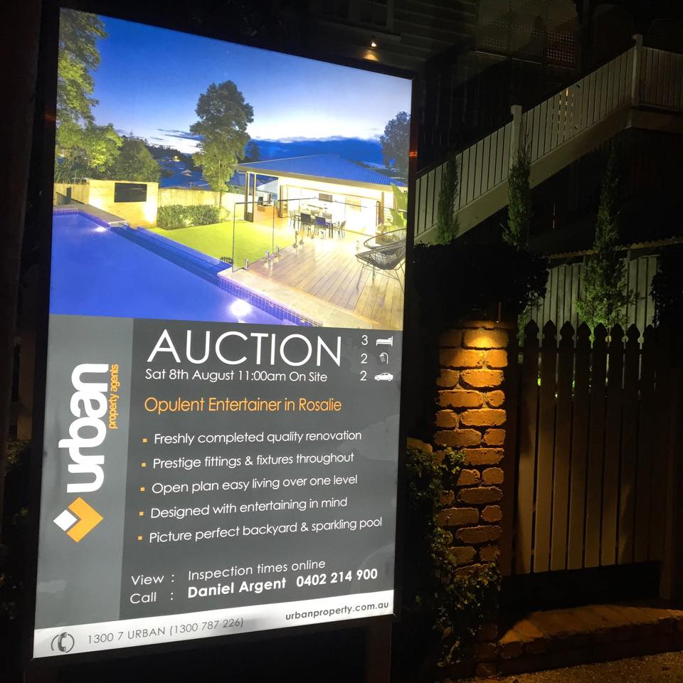 Digital Central's backlit signs can be hired to give 24/7 exposure.